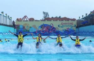 Desaru Coast Adventure Water Park Tidal Beach - Desaru Attractions travelling from Singapore to Desaru Coast