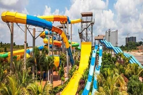 Exciting Desaru Water park