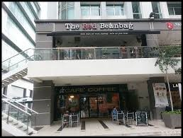 The Red Beanbag Cafe In KL