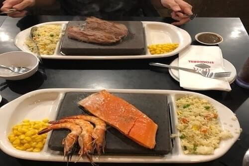 Sizzling StoneGrill