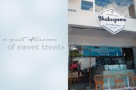 Shakespeare Milkshakes JB Cafe