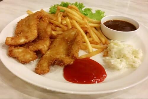 Lao Pa Sat-Chicken Chop