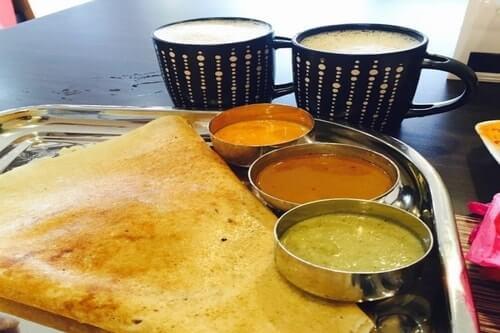 Golden Spice Cafe Roti Canai (Halal) breakfast menu spice cafe